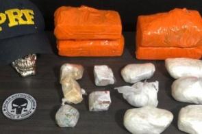 Dupla é presa em ação conjunta com maconha e cocaína