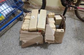 Mulher é flagrada com caixas de maconha na rodoviária de Dourados