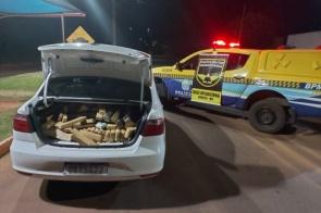 Homem é preso transportando quase 350 kg de drogas na região de Maracaju