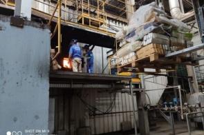 Polícia incinera mais de 24 toneladas de drogas em farinheira de Dourados