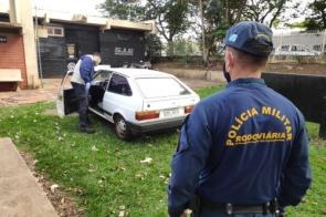 Após perseguição, motorista abandona veículo carregado com droga na MS-379