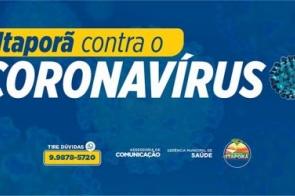 Cai a chance de contágio por coronavírus em Itaporã