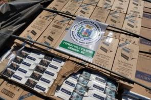 Paranaense é preso com 800 caixas de cigarros contrabandeados