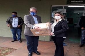Saúde entrega ventiladores pulmonares de transporte para mais quatro municípios