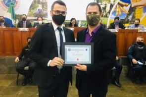 Legislativo de Itaporã realiza solenidade de homenagem a profissionais de segurança pública