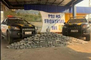 """Ex-morador de Itaporã """"Cai"""" com 1.200 quilos de cocaína em MT"""