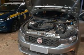 PRF recupera carro furtado que seria levado para Bolívia e prende motorista