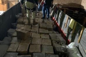 PRF apreende mais de 11 toneladas de maconha na região de fronteira