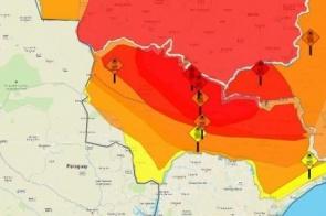 Confira: Mato Grosso do Sul tem 30 cidades com risco de morte por excesso de calor