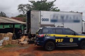 Dois são presos com mais de 1,7t de maconha em caminhão