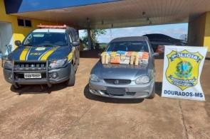 Douradense é preso com mais de 50kg de cocaína na BR-463