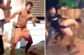 Felipe Prior apanha ao se envolver em briga de rua