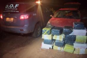Dois homens foram presos pelo DOF por Tráfico de Drogas