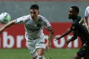 Palmeiras vence América em BH e garante lugar na decisão da Copa do Brasil