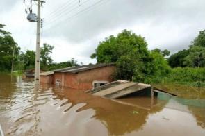 Com famílias desabrigadas e alagamentos, Nioaque vai decretar estado de emergência