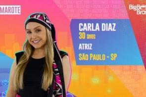 Carla Diaz é participante do BBB21