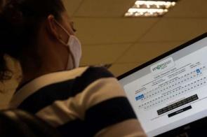 Gabaritos do Enem digital serão divulgados hoje à tarde