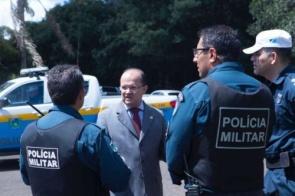 Barbosinha pede viaturas para atender polícias em quatro municípios de MS