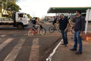 Vereador Lindomar reforça a necessidade de semáforo em cruzamento perigoso de Itaporã