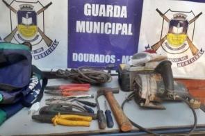 Guarda Municipal de Dourados recupera objetos furtados