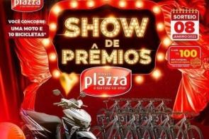 Móveis Plazza apresenta mega promoção de Show de Prêmios