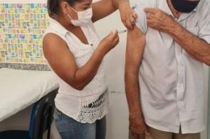 Itaporã vacinou 159 pessoas contra Covid-19 no último sábado 27