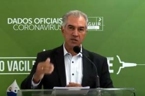 Mato Grosso do Sul: Reinaldo confirma fim de ensino híbrido