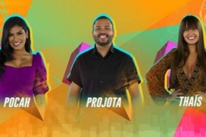Pocah x Projota x Thaís estão no sétimo paredão do BBB21