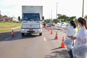 No fim de semana, barreiras sanitárias identificam 18 casos suspeitos de covid
