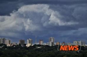 MS entra em alerta de temporal com ventos de até 100 km/h