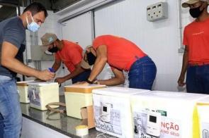 Doses de novo lote de vacina já são distribuídas nas cidades de MS