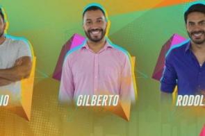 Caio, Gil e Rodolffo estão no nono paredão do 'BBB21'
