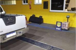 Motorista que saiu de MS é preso com cocaína avaliada em R$ 9 milhões
