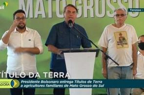 Em MS, Bolsonaro defende voto impresso e diz que só perde para Lula na fraude