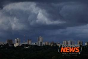 Inmet divulga alerta de tempestade para Dourados e municípios da região