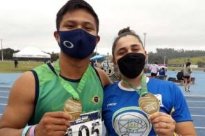 Atletas de MS conquistam dois ouros em etapa do Brasileiro