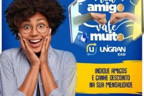 Unigran EAD Itaporã: A campanha Meu Amigo Vale Muito está de volta