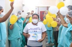 VIDEO: Recuperada da Covid-19, douradense é recebida pela mãe em Rondônia