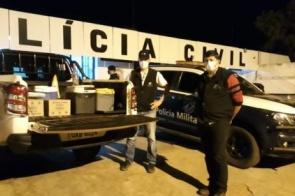 Vigilância Sanitária e força policial fecham festa clandestina em Itaporã