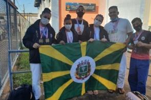Associação YADA de judô  da show em Brasília