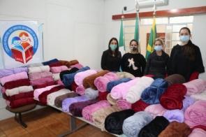 CRAS de Itaporã  faz entrega de cobertores para famílias em situação de vulnerabilidade