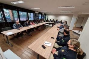 Equipe da Secretaria Nacional de Justiça está em MS para conhecer procedimentos policiais