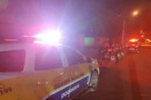 Homem é executado a tiros na frente da família em Dourados