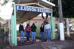 Começam as obras de reforma e ampliação na escola Edson Bezerra de Itaporã
