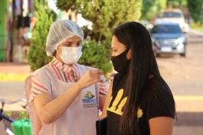 Itaporã vacina população acima de 20 anos nesta sexta feira (30)
