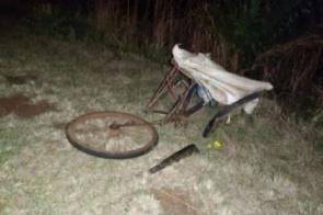 Ciclista parado no meio da pista morre após ser atropelado por caminhão em Dourados