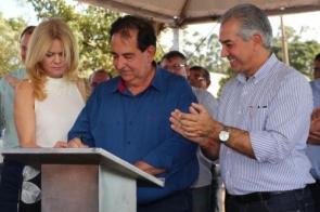 Governador Reinaldo Azambuja estará na próxima terça-feira em Itaporã para lançamento de obras