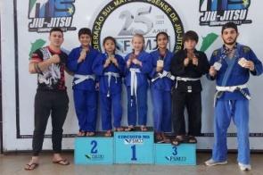 Itaporã é ouro no GP MS de Jiu-Jitsu