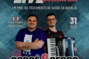André e Renan realizam live solidária nesta terça-feira (31)