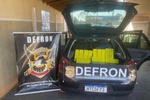 Polícia Civil apreende veículo com 327kg de maconha em Dourados